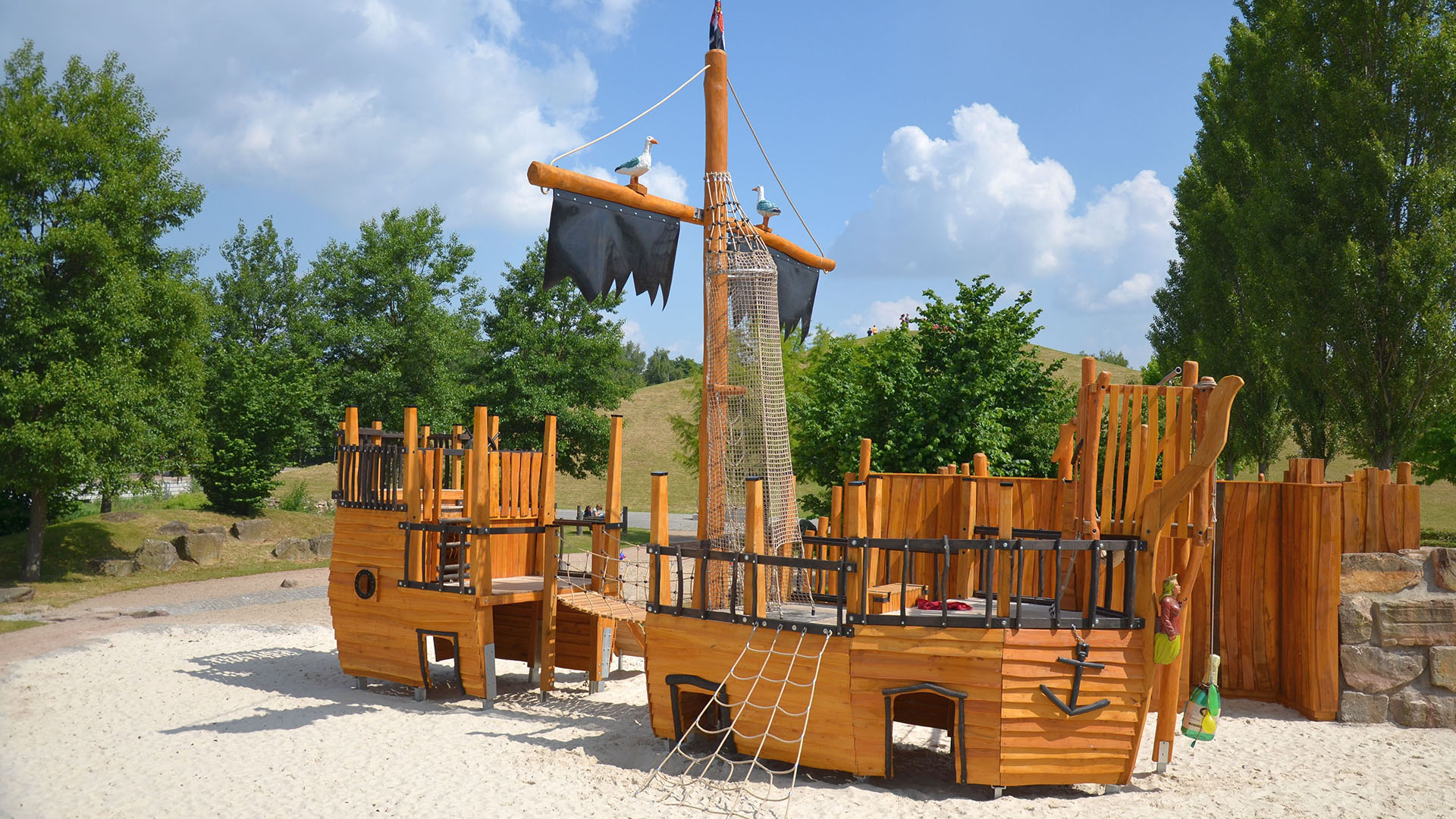 Piratenschiff Gronau